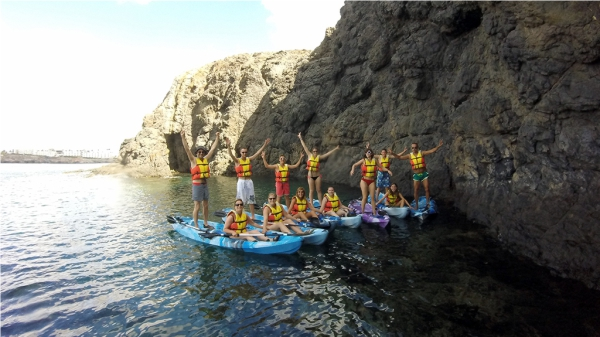Sea Kayak in Lanzarote
