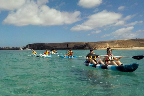 Kayak And Snorkelling in Papagayo Beach